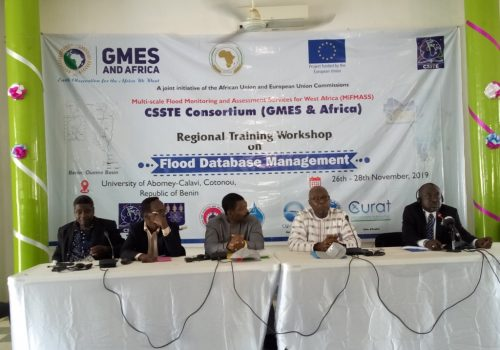 Flood Management, CSSTE, African Union, ARCSSTEE, GMES, MIFMASS